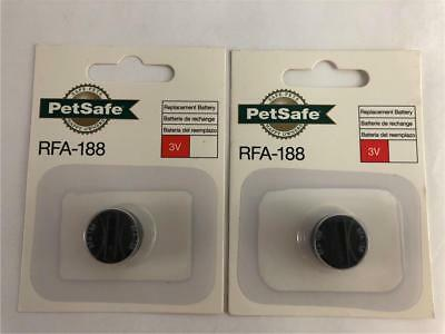 NEW 2 Pack PetSafe RFA-188 Genuine 3V Replacement Batteries