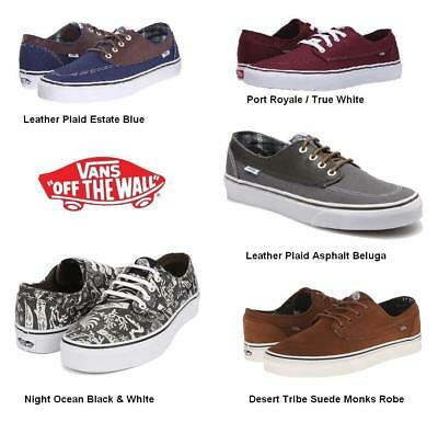 4519d833c8 Like us on Facebook · Vans Brigata Unisex Sneaker Skateboarding Shoes  Leather Suede Canvas