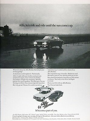 1975 ALFA ROMEO GT VELOCE COUPE Authentic Vintage Ad ~ MSRP Under $7,000