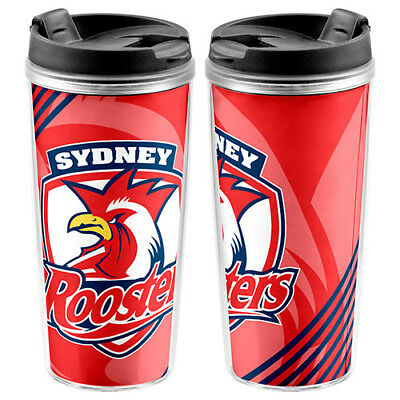 Sydney Roosters NRL Gift Team Logo Coffee Drink Work School Travel Cup Mug!