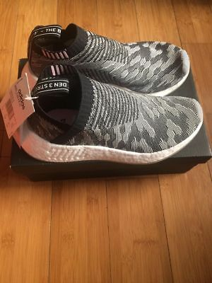 Details about Adidas NMD W CS2 PK size 5. Black Pink Gray White. BY9312. ultra boost primeknit