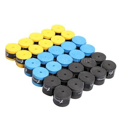 Pro'S Pro Perforated Tennis Squash Badminton Grips Racquet Overgrip 30 Pack B5R1