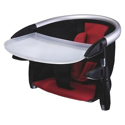 Phil & Teds Lobster Clip-On High Chair In Red w/Carry Bag Excellent Condition