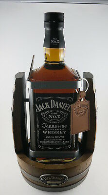 Jack Daniels Old No.7 Tennessee Whiskey & Cradle 1.75L, No C 2600, 2015 Release
