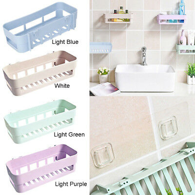 Suction Sale New Wall Bathroom Shelf Plastic Double Rack Storage Kitchen Cup