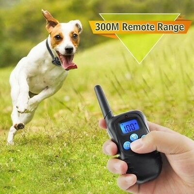 Petrainer Waterproof Dog Training Collar with  Vibration Shock Electric E-Collar