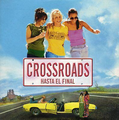"Britney Spears ""crossroads Hasta El Final"" Rare Spanish Promo Cd-Rom / Madonna"