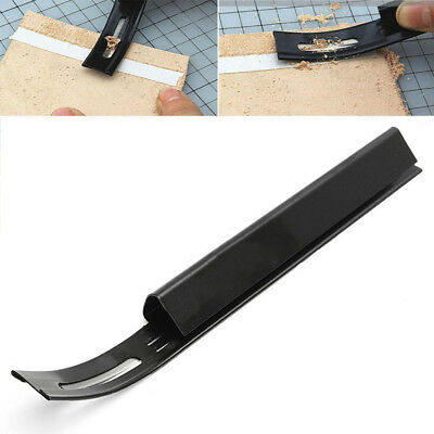 Safety Skiver Beveler Thinning Leather Craft Blade DIY Folds Seams Tool Eyeful