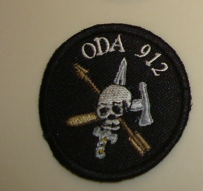 Special Forces Oda 912 Team Pocket Patch, Theater Made