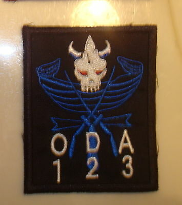 Special Forces Oda 123 Team Pocket Patch,theater Made