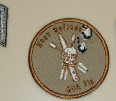 Special Forces Oda 916 Team Pocket Patch, Theater Made