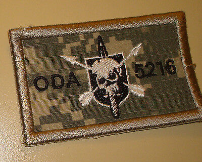 Special Forces Oda 5216, Team Pocket Patch,theater Made