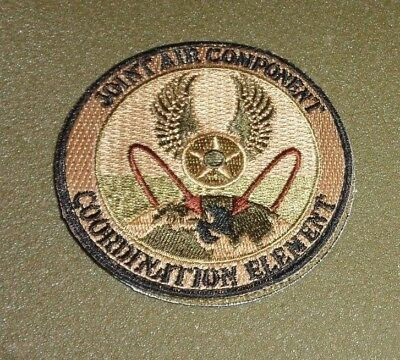 U.S.A.F. PATCH, JOINT AIR COMPONENT COORD ELE, SCORPION,MULTICAM,OCP HOOK LOOP x