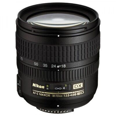 Nikon AF-S DX Zoom 18-70mm con Paraluce Originale Perfetto come Nuovo AAAAAA++++