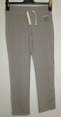 Girls Jogging Pants Bootleg Joggers Trousers New M&S Grey Cotton 11-12, 13-14 Yr
