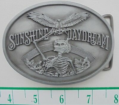 Grateful Dead Belt Buckle Sunshine Daydream 8/27/72 ~ Numbered/Ltd Ed  of 1000