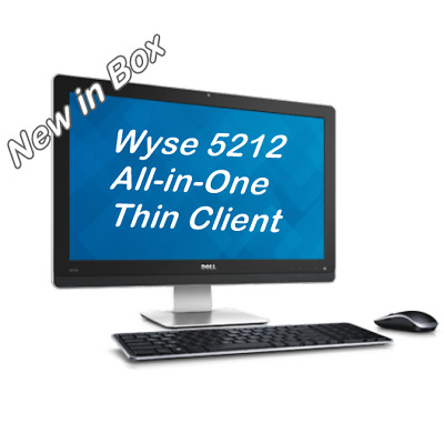 NEW Dell Wyse 5212 All-in-One WIFI Thin Client ThinOS8 8GBF/2GBR 909913-51L 5040