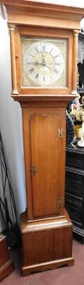 caddy top 30 hour oak  longcase clock steel nottingham ??