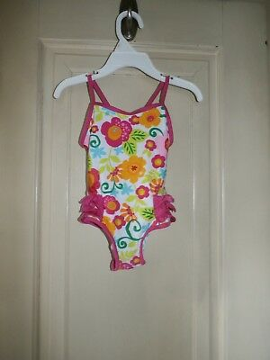 Toddler Girls One Piece Swimsuit by Koala Kids Size 18 Months    VERY NICE