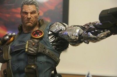 Custom 1/4 scale a pair of arms for Cable Statue (not Include xm studios Statue)