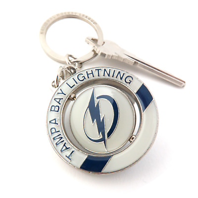 NHL Tampa Bay Lightning Spinner Keychain