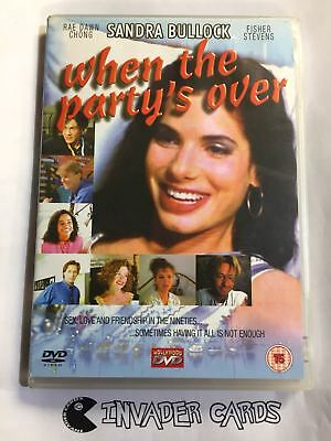 When The Party's Over Sandra Bullock DVD Original Boxed