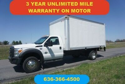 2012 Ford F450 14 ft box 6.7 Powerstroke Diesel Used New crate motor warranty
