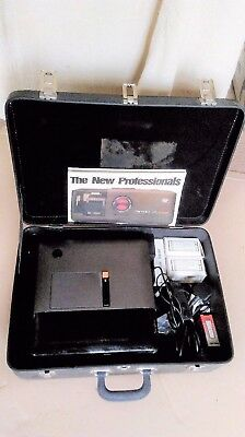 Rare top of range Perkeo AFS Universal Slide Projector with bits and case/keys