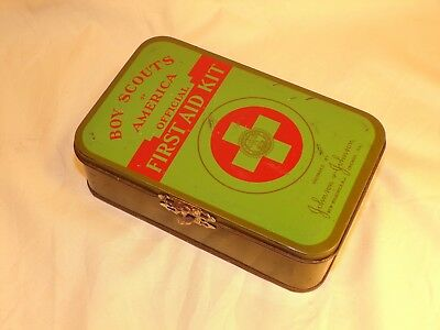 Vintage Official Boy Scouts of America Belt First Aid Kit by Johnson & Johnson