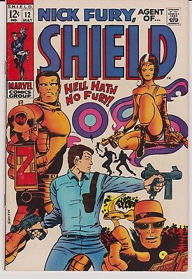 Nick Fury, Agent of SHIELD #12 (May 1969, Marvel)