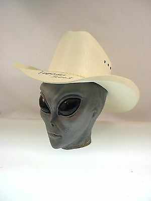 Ronnie Prophet Autograph Signed Cowboy Hat 2005 Old School Country Western Music