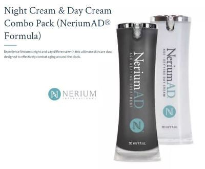 Combo Pack Nerium AD Age Defying Day & Night Cream - Factory Sealed -$150 Retail