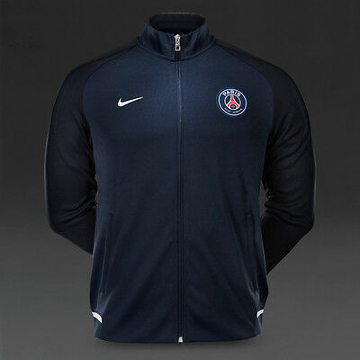 XL NIKE PSG TRACK JACKET Zip Pockets PARIS SAINT GERMAIN football Tags