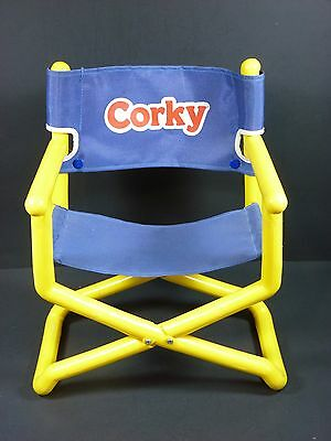 Vintage Corky Playmates Doll Director Toy Chair Cricket Brother