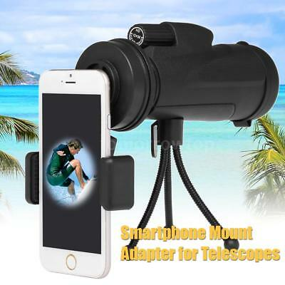 Universal Cell Phone Mount Adapter for Monocular Telescope Spotting Scope W1T9