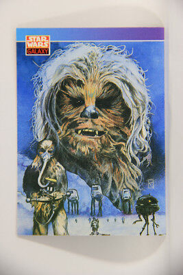 L003023 Star Wars 1993 Topps Trading Card #135 / Chewbacca / ENG Great ARTWORK