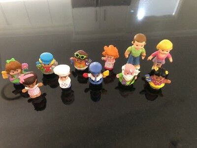 FISHER PRICE LITTLE PEOPLE Including My First doll House Parents