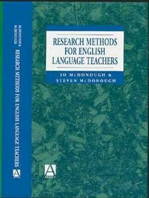 NEW Research Methods For English Language Teachers by... BOOK (Paperback)