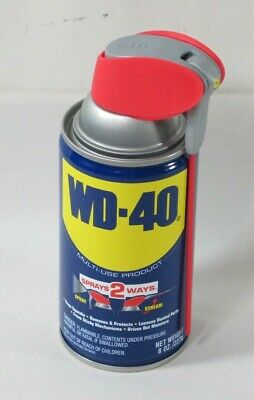 WD-40 Multi-Purpose Lubricant with Smart Straw Spray. 8 oz. - 49002