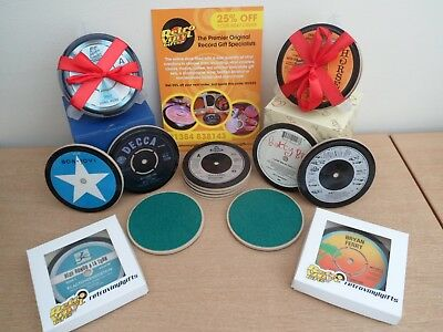 Drinks Coaster - Original Vinyl Records Great Gift High Quality Free Uk Postage