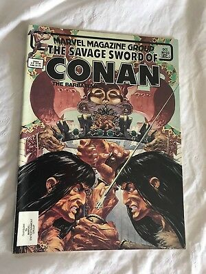 The Savage Sword of Conan the Barbarian #93 (Oct 1983, Marvel)