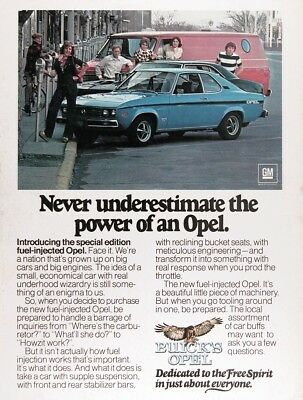 1975 BUICK OPEL Genuine Vintage Advertisement ~ Special Edition