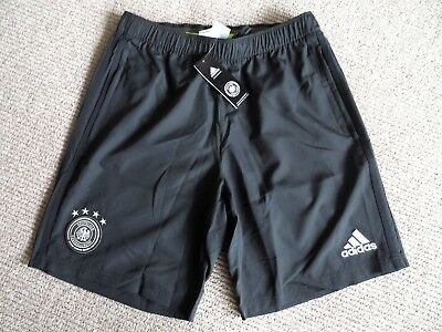 XL ADIDAS GERMANY ADIDAS SHORTS *ZIP POCKETS* WOVEN football soccer calcio