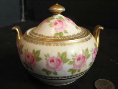 Vintage Vienna Austria Imperial Crown China Covered Bowl