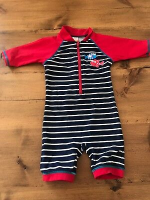 Baby Boys All In One Swim Suit 9 12 Months Swimming Costume 400