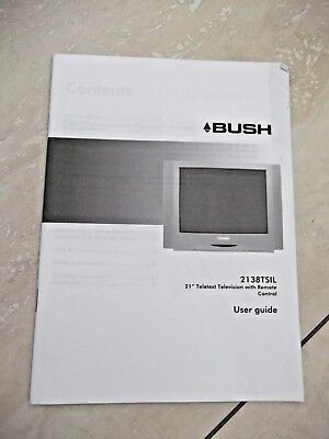 bush television user guide 2138tsil 9 99 picclick uk rh picclick co uk Guide Bush LA GI Guide Bush NZ