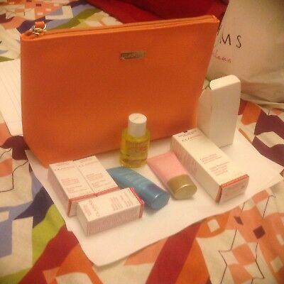 CLARINS GIFT SET/HOLIDAYS/Birthday/New-ITEMS+COSMETIC BAG/Party/Festival/gift.