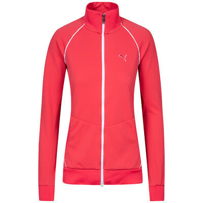 PUMA Golf Damen Softshell Fleece Jacke Golfjacke Sport S M L XL 559484-01 neu