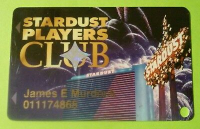 Stardust Hotel Casino Las Vegas, Nevada Slot Card Great For Any Collection!