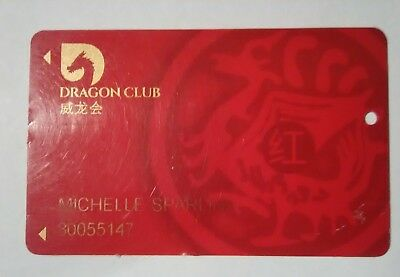 Lucky Dragon Casino Las Vegas, Nevada Players Slot Card Great For Collection!